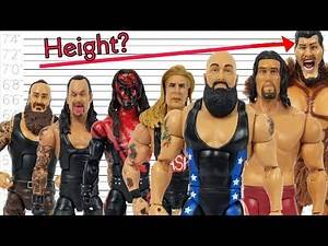 BIGGEST WRESTLERS OF ALL TIME | WWE FIGURES