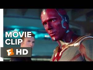 Avengers: Age of Ultron Movie CLIP - Vision Lifts Hammer (2015) - Chris Hemsworth Movie HD