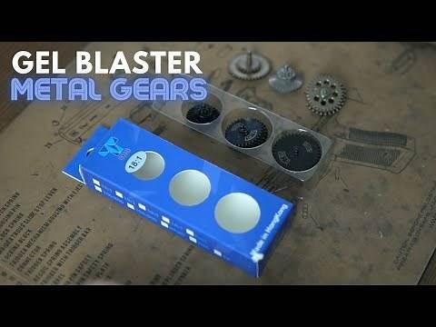 Metal Gears for Gel Blasters | Cast vs. SHS Gears, What's Better?