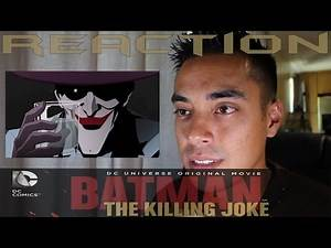 Batman: The Killing Joke Animated Movie Trailer Reaction