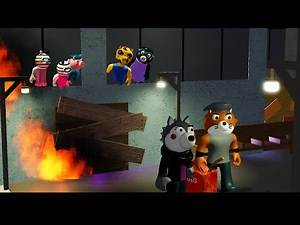 TSP BURNED DOWN THE SAFEHOUSE! a PIGGY BOOK 2 FILM (THE SILVER PAW) @MiniToon