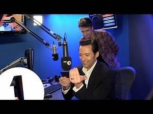 Hugh Jackman gets a cricket message from Michael Vaughan & Graeme Swann