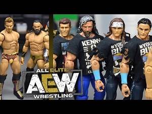 AEW WRESTLING ACTION FIGURE COLLECTION!