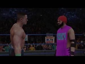 WWE 2k19 MyCareer John Cena Needs a Lozenge