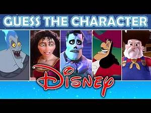 "Guess the Character ""DISNEY"" (PART 3) 