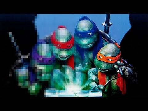 Teenage Mutant Ninja Turtles II: The Secret of the Ooze (1991) Trailer REMASTERED