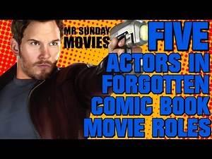 5 Comic Book Actors In Forgotten Comic Book Roles