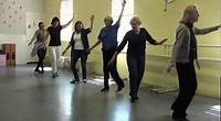 Roxborough's senior tap dance group