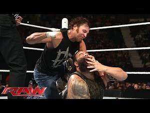 Dean Ambrose vs. Bray Wyatt: Raw, May 18, 2015