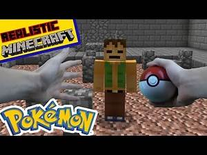 REALISTIC MINECRAFT- POKEMON GO Origins [S:1 Ep.2] Ash Battles Brock