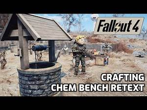 CRAFTING & SETTLEMENT MODS: WATER WEKK & Simple Immersive CHEM BENCHES For Crafting - FALLOUT 4