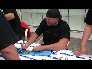 Scott Hall aka Razor Ramon Signing Autographs For Fans - 3 of 4