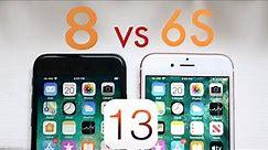 iPhone 6S Vs iPhone 8 On iOS 13! (Speed Comparison) (BETA)