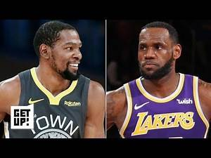 LeBron won't win the Lakers a title if KD re-signs with the Warriors - Richard Jefferson   Get Up!