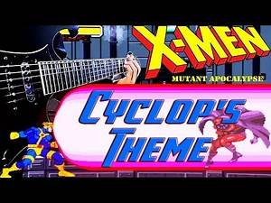 "X-Men Mutant Apocalypse - ""Cyclop's Theme"" LOUD HEAVY METAL Cover 