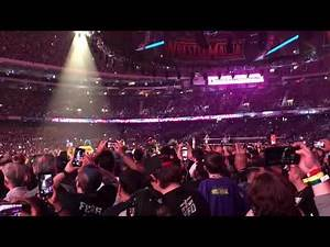 Wrestlemania 34 Asuka's entrance