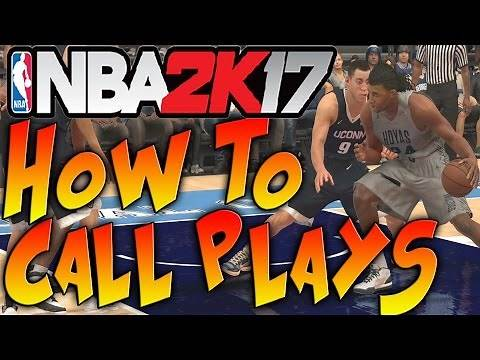 NBA 2K17 Tips & Tricks - HOW TO CALL PLAYS IN NBA 2K17
