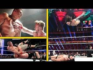 The 13 Most PAINFUL Moves In WWE!