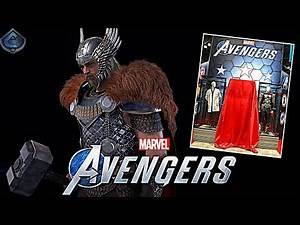 Marvel's Avengers Game - King Thor Costume Revealed! New Character Reveal TOMORROW?!
