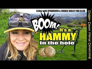 Digger Dawn - BOOM Hammy in the Hole with the Garrett 400i metal detecting #2