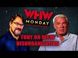 Tony SHOOTS on WCW's Disorginization