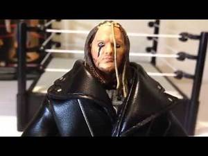 TNA Legends of the Ring Raven wrestling figure review WWE ECW