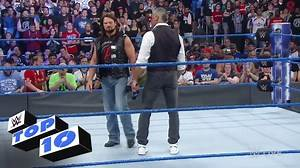 WWE - Top 10 SmackDown LIVE moments: WWE Top 10, Apr. 4, 2017