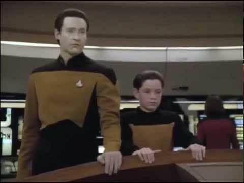 "Star Trek TNG Data ""Drop the shields"" - S5E11 - 6 January 1992"