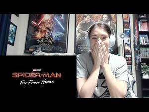 Spider-Man: Far From Home | Teaser Trailer Reaction