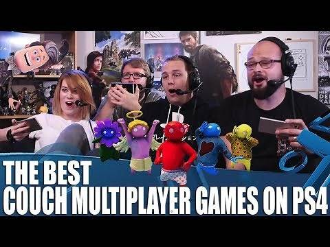 The Best Couch Multiplayer Games On PS4