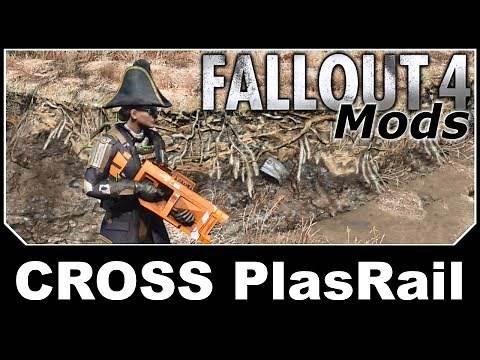 Fallout 4 Mods - CROSS PlasRail