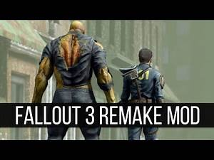 Some Major New Releases from the Fallout 3 Remake Mod
