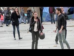 EXCLUSIVE - Kristen Stewart on set of Personal Shopper - Day 2