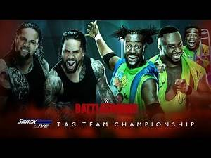 WWE Battleground 2017 Edited match card/ The Usos vs The New Day