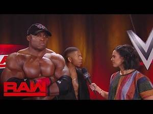 Why Bobby Lashley will dominate in the WWE World Cup Tournament: Raw, Oct. 29, 2018