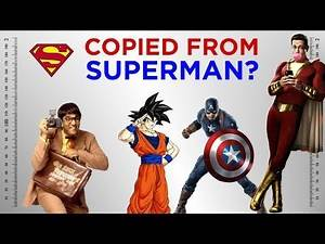 Characters Who have Copied from Superman!