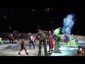20180218 Age of Heroes Marvel Universe LIVE at Wellsfargo Center