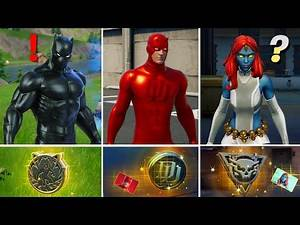NEW Season 4 ALL BOSSES, MYTHIC WEAPONS, KEYCARD VAULT LOCATIONS(Black Panther, Daredevil, Mystique)
