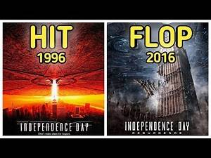Independence Day 1996, 2016 hit or flop, will smith, 20th fox century