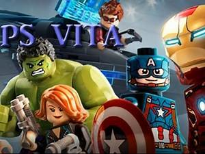 Lego Marvel Avengers PS VITA Dr. strange mission, more characters, free rom
