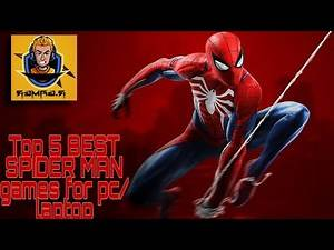 Top 5 BEST SPIDER MAN GAMES FOR PC/LAPTOP