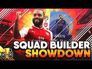 FIFA 17 SQUAD BUILDER SHOWDOWN vs AJ3 W/ ARSENAL LACAZETTE! SBSD CUP ULTIMATE TEAM