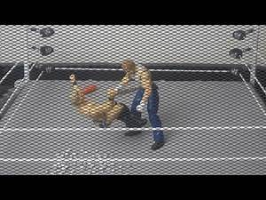 Chris Jericho vs. Dean Ambrose (Ambrose throws Jericho into Thumbtacks): WWE Extreme Rules