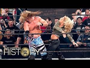 Trish Stratus leaves Chris Jericho heartbroken at 'Mania: This Week in WWE History, March 17, 2016