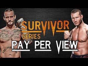 "WWE 2k14 Universe Mode - #26 ""Survivor Series PPV"""