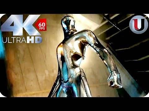 X-Men Days of Future Past - Opening Fight Scene - 2014 MOVIE CLIP (4K)