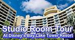Studio Room Tour at Disney's Bay Lake Tower Resort!
