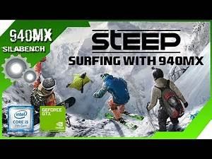STEEP PLAYABLE!!! on Geforce 940MX - i5 7200U - 8GB RAM [acer e5 475g]
