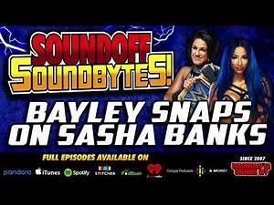 Bayley SNAPS On Sasha Banks While The Announcers SNOOZE