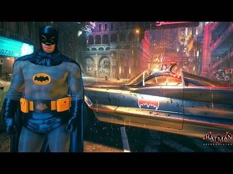 Batman Arkham Knight: 1960's Batman Skin On PC Mod